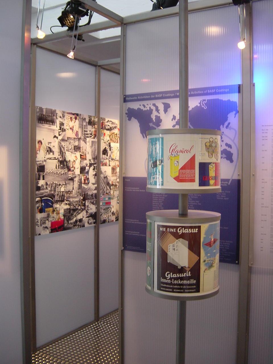 Ausstellung Drehzylinder