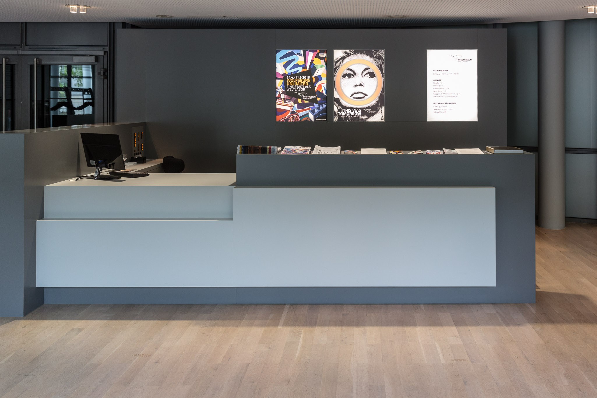 Innenraumgestaltung – Foyer Kunstmuseum Wolfsburg